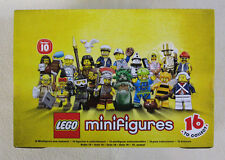 Lego Minifigures Series 10 / Lot Of 60 Random Blind Bags New Sealed! Mr Gold???