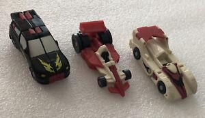 Transformers Armada Mini Cons Road Assault complete Hasbro Takara