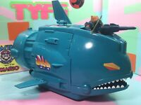 Vintage 1980's Battle Beasts Shocking Shark Vehicle [ Not Complete ] w/figure
