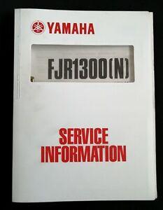 Yamaha Fjr Motorcycle Repair Manuals Literature For Sale Ebay