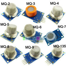 Total 9PCS kit Gas Detection Sensor Module MQ-2/3/4/5/6/7/8/9/135 9values each 1