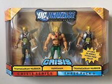 "DC Universe 4"" Figure 3 Pack HAWKMAN & 2 THANAGARIAN WARRIORS DCU Crisis"