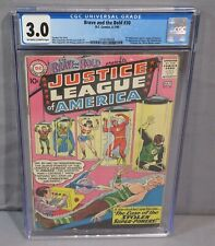 BRAVE & THE BOLD #30 (3rd Justice League, 1st Amazo) CGC 3.0 DC Comics 1960