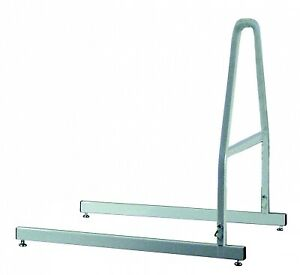 Lumex Trapeze Floor Stand Only, Chrome-plated