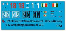 Peddinghaus 2706 1/72 Macchi C.205 ADRIANO VISCONTI