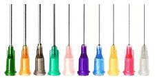 More details for 10x blunt dispensing needle tip for syringes luer lock / slip - glue oil liquids