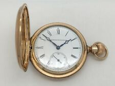 Antique 1880's E. Howard & Co 15J Series V Pocket Watch 14k Gold B.W.C.Co recase