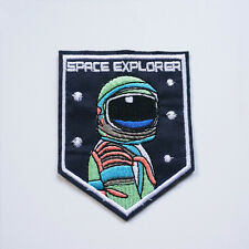 Embroidery Space Man Astronaut Apollo Sew Iron On Patch Badge Bag Applique DIY