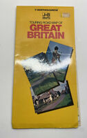 Bartholomew J&B Maps Touring Road Map Of Great Britain  Vintage