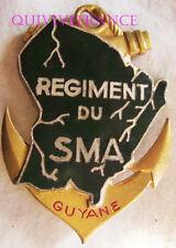 IN9953 - INSIGNE Régiment du Service Militaire Adapté Guyane,émail,pastille oblo