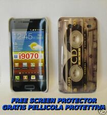 Pellicola+custodia BACK COVER TAPE CDONE per Samsung I9070 Galaxy S Advance