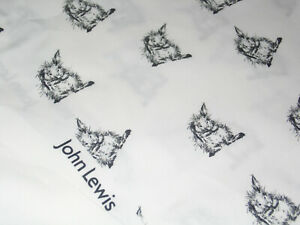 John Lewis & Partners Bailey Rabbit Print Fabric  5.4mtrs
