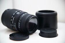 Objectif zoom SIGMA DG 70-300 mm Macro monture CANON EF