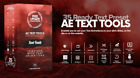 After Effects Text Tools - AE Files