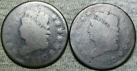 1810 1812 Classic Head Large Cent Penny Type Coin Lot ---- L@@K ---- #L220