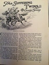 c9-2 ephemera 1930s short story the suffering twins george surrey