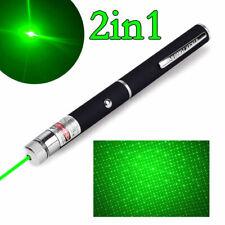 Super Bright 990miles Green Laser Pointer 2In1 Star Beam Pro Astronomy Lazer Pen