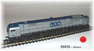 Mehano 58859 -  Diesellokomotive  Baur. 250 (Blue Tiger) der LTH,  Neu OVP