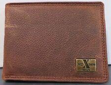 HD Xtream Work Briar Pitstop Dark Brown Western Billfold Wallet Bifold Bi-fold