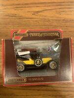 Y9 Matchbox Models of Yesteryear Simplex 50 Yellow In Box