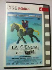 LA CIENCIA DEL SUEÑO - CINE PUBLICO 4 - DVD PAL2 - SLIMCASE - 109 MIN -NEW NUEVA