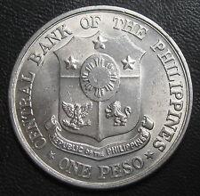 PHILIPPINES - ONE PESO 1961 - CENTENAIRE JOSE RIZAL - Argent
