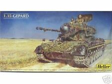 Heller 1/35 Gepard with Leopard II Chassis Anti-Aircraft Tank Model Kit 81139