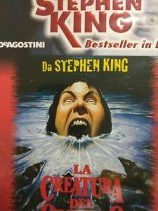 CREATURA DEL CIMITERO DVD CON LIBRETTO STEPHEN KING BESTSELLER DEAGOSTINI