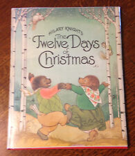 Rare Signed 1981 1st/1st HILARY KNIGHT'S THE TWELVE DAYS OF CHRISTMAS!!