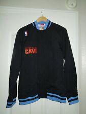 Cleveland Cavaliers NBA Hardwood Classics Mitchell and Ness Warmup Jacket Size M