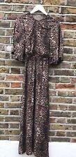 Gorgeous Adoree Leopard Print Maxi Dress Size XS 6/8.