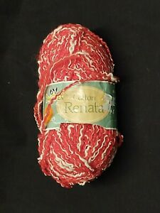 LOT OF 3 PHANTEX COTTON RENATA GERANIUM #21 YARN 292.5 TOTAL YARDS