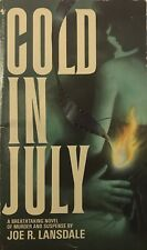 COLD IN JULY by Joe R. Lansdale ~ Bantam Books #28020-1 ~ SCARCE!