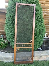 Vintage Victorian Wooden Tall Screen Door