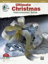 Ultimate Christmas Instrumental Solos - Alto Sax Book & Cd 41500