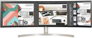 "NEW!  LG 49BL95C-W 49"" 32:9 Curved UltraWide Dual QHD (5120x1440) IPS Monitor"