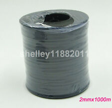 2mmx1000m Double Side Silver Reflective Yarn Thread Tape For Weaving