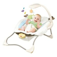 Baby Bouncer Swing Seat Rocker Portable Electric W/Sounds Infant Cradle Chair Us