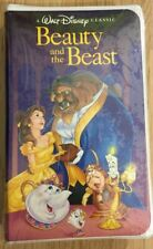 Beauty And The Beast VHS 1992 Black Diamond Factory Sealed