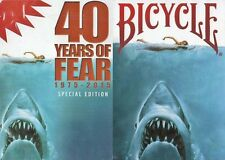 Bicycle Playing Cards - 40 Years of Fear (Jaws) (2 Deck Set)
