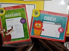 Lot of 2 Educational Draw & Write Common Core Language Arts Grades 1-3