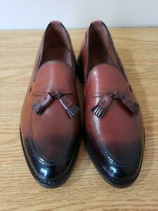 Allen Edmonds Grayson Dress Loafer Oxblood Size 8EEE