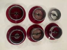 1963 63 Chevrolet Chevy Impala Tail lamp lens Set Factory