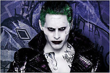The Joker Jared Leto Suicide Squad Large Maxi Poster Art Print 91x61 cm