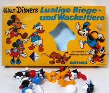 Walt Disney figurines à assembler puzzle 3D Simex vintage RARE