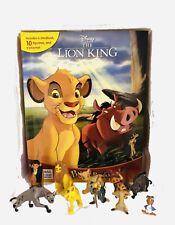 Disney Lion King Figures SIMBA w/ Book Set, Busy Books NEW!