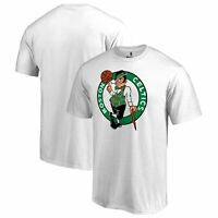 Boston Celtics Fanatics Branded Big & Tall Team Primary Logo T-Shirt - White