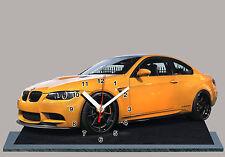 BMW M3 E92 -06, MINIATUR MODELLAUTOS in der Uhr