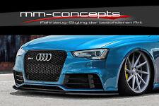 CUP Spoilerlippe für Audi RS5 8T A5 Bj. 12-16 Lippe Frontspoiler Spoilerschwert