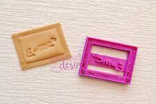 e=mc2 board teacher cookie fondant cutter embosser UK Seller